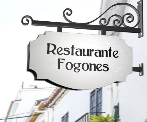 Rótulos restaurantes