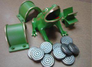 Fabricamos el juego de la rana, la llave entre otros